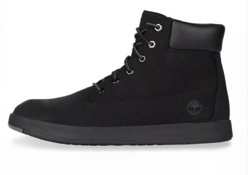 Timberland Davis Square 6 inch Boots Nubuk Unisex Juniors / Women's A1UWS Boxed